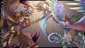 Dragalia - Marishiten and Jeanne d'Arc