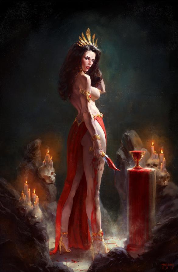 Queen Of Vampires X2 By Christos-Martinis On Deviantart-3486