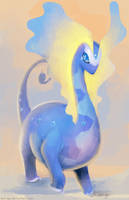 Aurorus Painting by eldrige