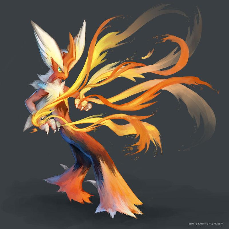 Mega blaziken by eldrige on deviantart - Pokemon mega evolution blaziken ...