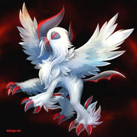 Commission for MilitaryAviator: Mega Absol by eldrige