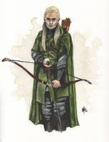 Prince of Mirkwood by melissamyraf
