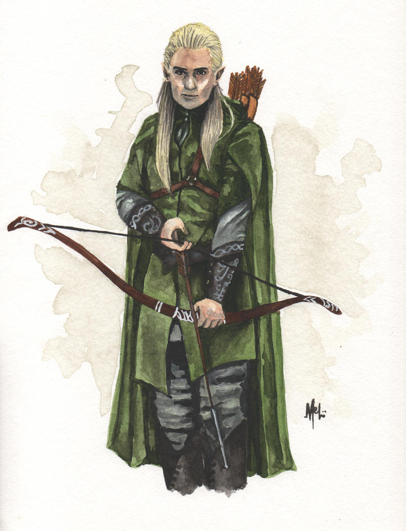 Prince of Mirkwood by pawintols