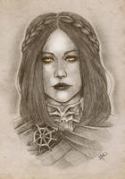 Daughter of Coldharbour by melissamyraf
