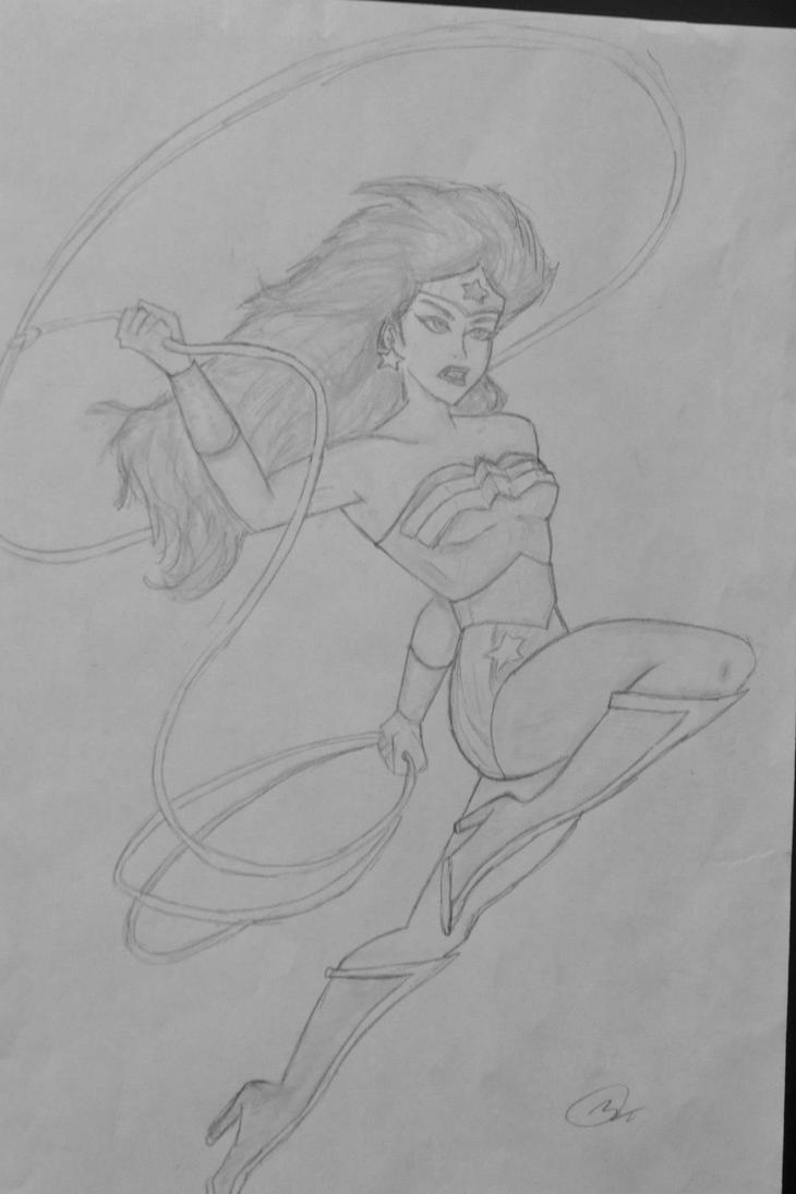 Wonder Woman by mikenunoz