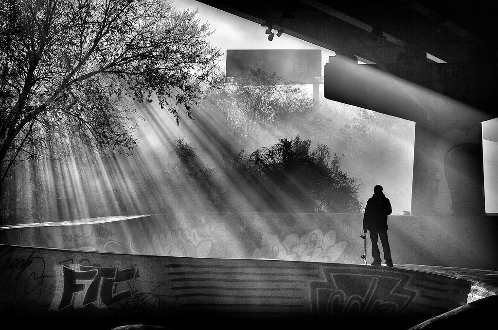Lone Skater by ScottJWyatt