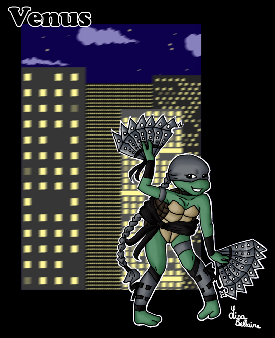 TMNT - Venus by jewelschan