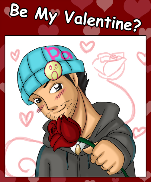 Phoenix Wright : Valentine by jewelschan