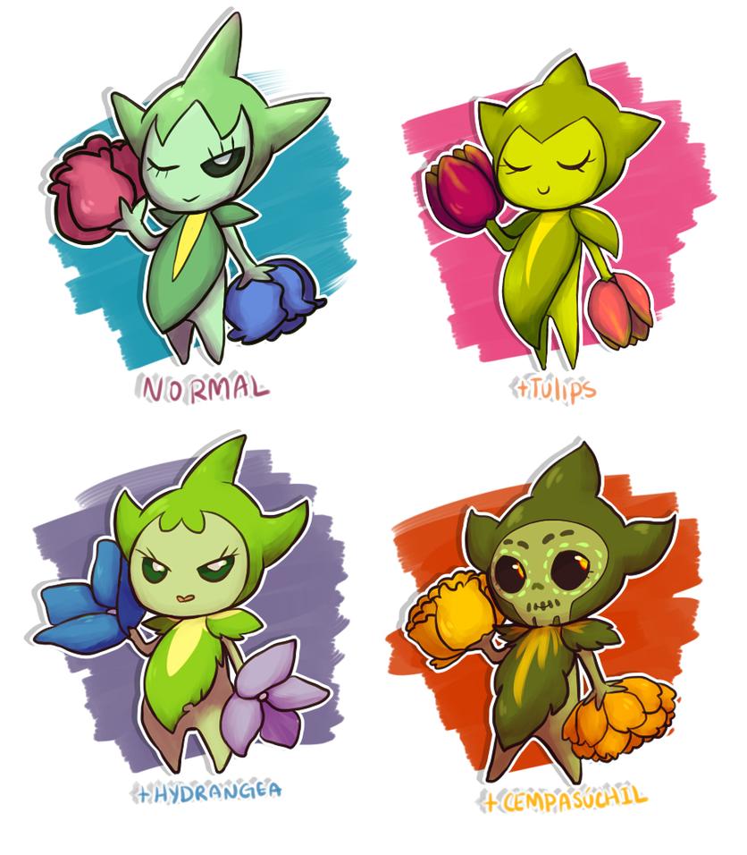Roselia Pokémon  Bulbapedia the communitydriven