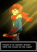 Undertale- Chara ''Voices from the underground'' by ClawCraps