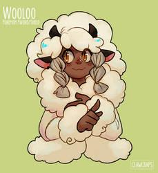 Eliza -  Wooloo gijinka by ClawCraps
