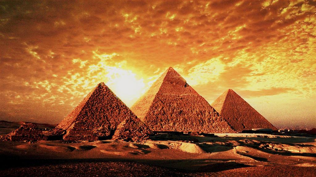 Egypt pyramids wallpaper by alexlannister on deviantart for 3d wallpaper for home egypt