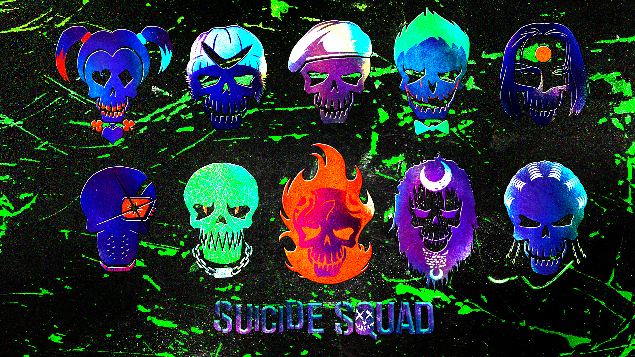 suicide squad wide wallpapers - photo #26