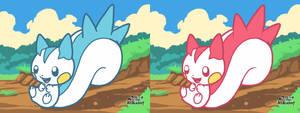 Pokemon Art Academy - Pachirisu