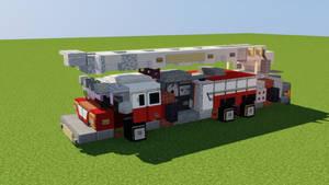Spartan Aerial Ladder Fire Truck