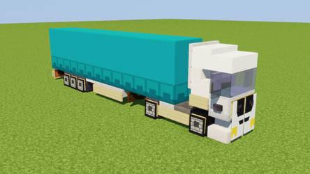 1:1 EU Semi-Trailer Truck