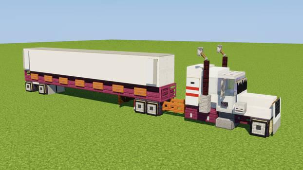 1:1 US Semi-Trailer Truck