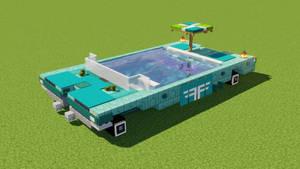 Swimming Pool Car