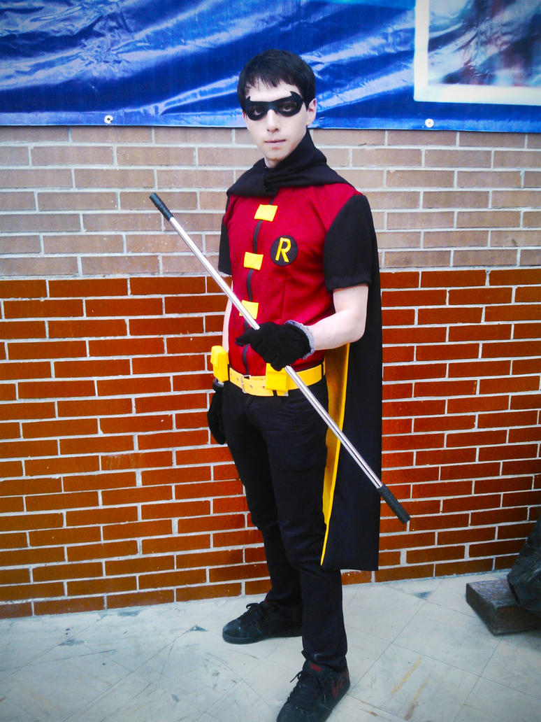 Robin (Young Justice) Cosplay by JamesPHawkins