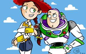 Buzz and Jessie by paulocampos