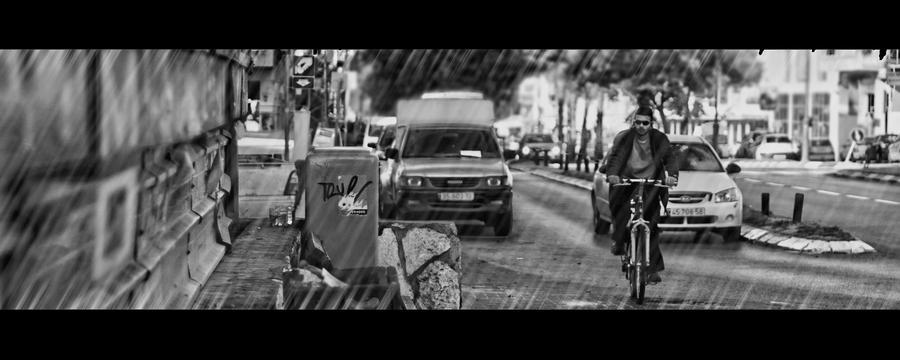 Urban rain by motipoyastro