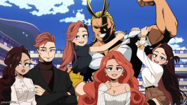[BNHA OC] The Montrego-Yagi Family