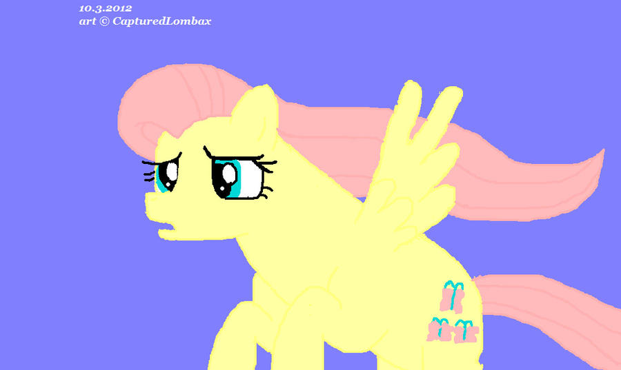 Fly, Fluttershy, fly by TheRealHiro on DeviantArt