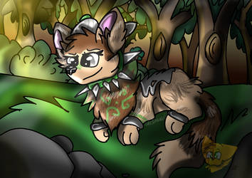 Forest Peace || Animal Jam Art by CatsForever12