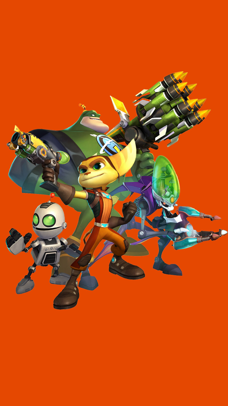Ratchet And Clank All 4 One Wallpaper Iphone 6 By Ratchetfan2006 On Deviantart