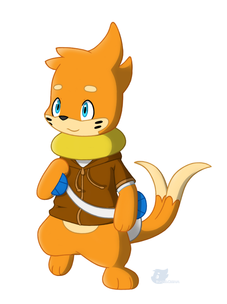 ~Pokémon Mystery Dungeon RP: Adventures Beyond the Limit!~ Traveling_buizel_by_buizelcream-d55n6iw