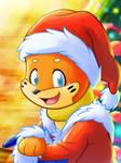 Roie, the Santa Buizel