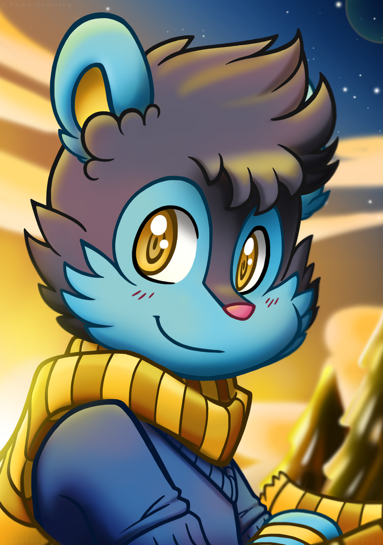 Bennet The Luxio by BuizelCream