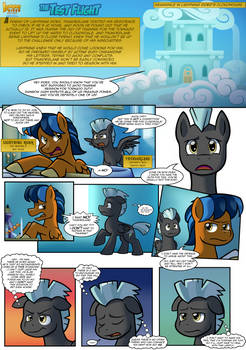 Lightning Rider Mini-Comic: The Test Flight (pg.1)