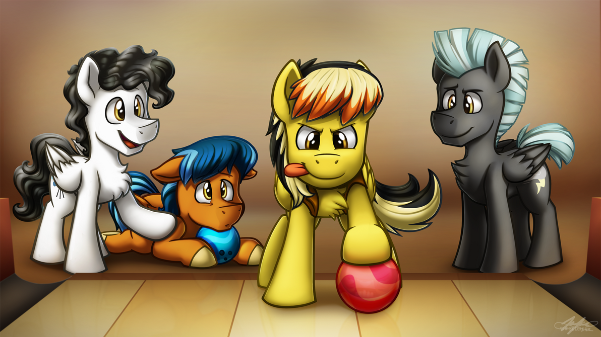 Bowling Time -Point Commission- by BuizelCream