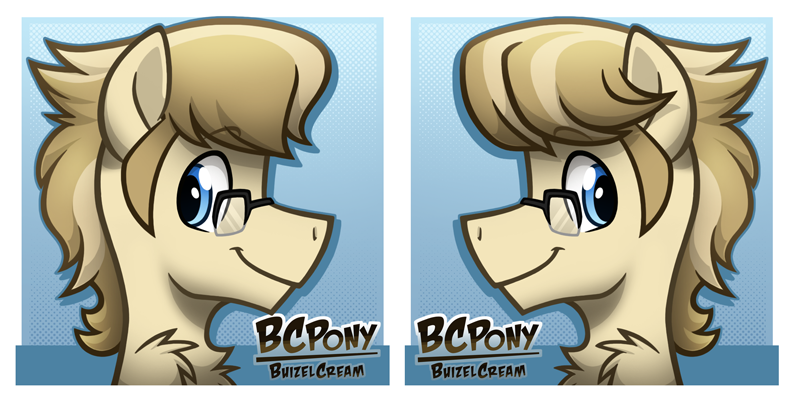 BCPony (BuizelCream) Icons 2014 by BuizelCream