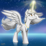 StarDust the Alicorn -Commission-