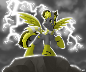 -Commission- The Thunder! by BuizelCream