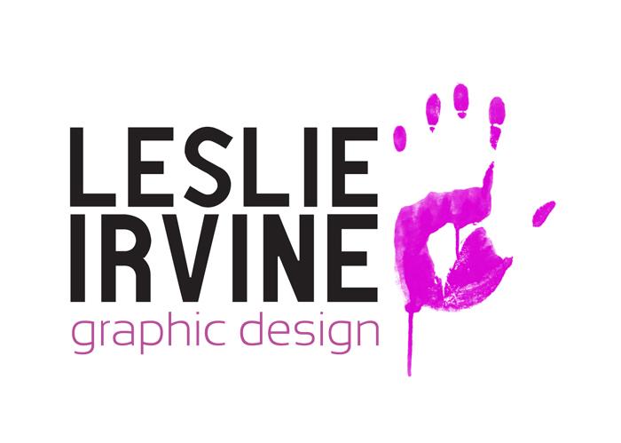 Leslie Irvine Graphic Design: Logo by Lazlaar