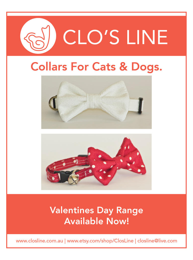 Valentines Day Collars by Ardengrail
