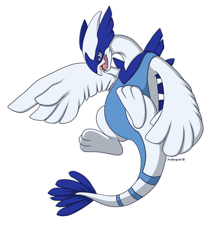 Mega Lugia by Ardengrail on DeviantArt