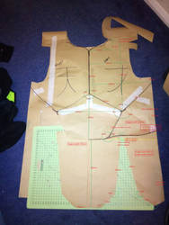 Bugrom Armour Template Frount