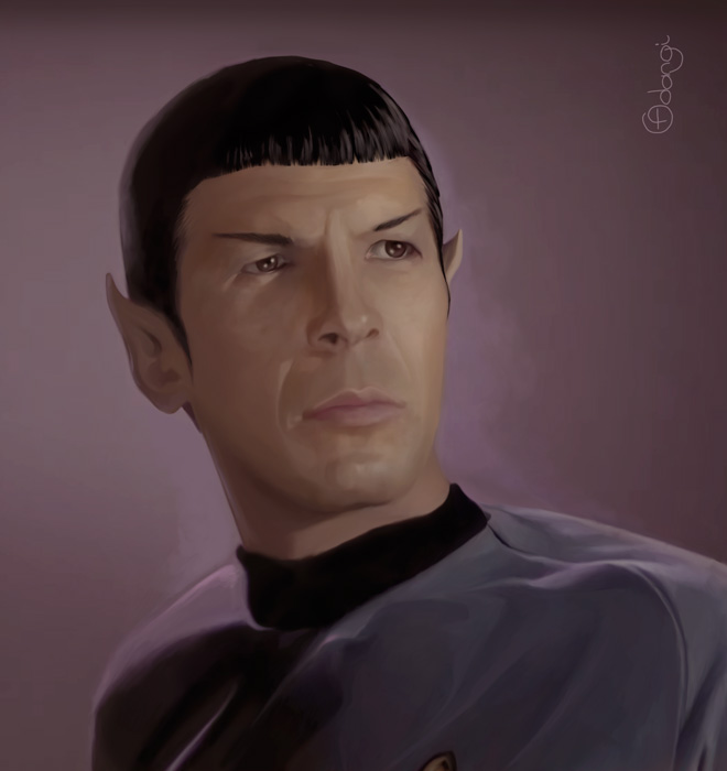 Spock by Adangi
