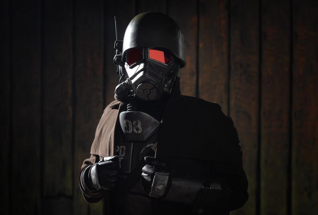 NCR Ranger veteran cosplay by MaxBdn
