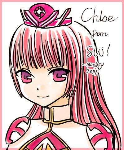 Chloe ~Summoners War: Sky Arena by monkry