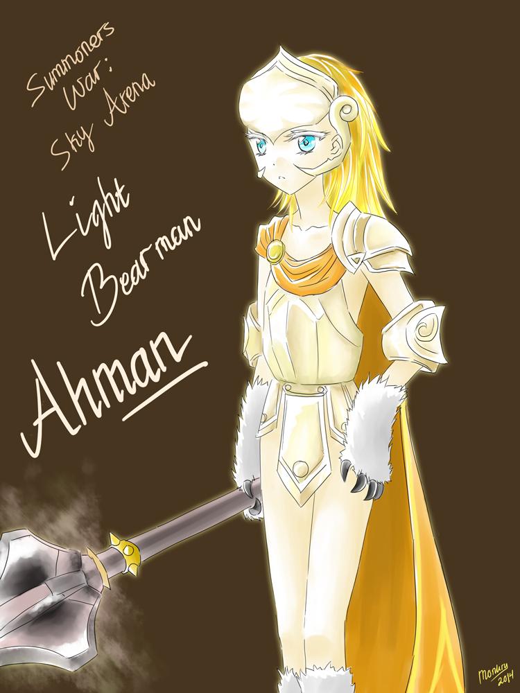 Ahman ~Summoners War: Sky Arena by monkry