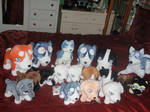 Ginga Plush Collection UPDATED
