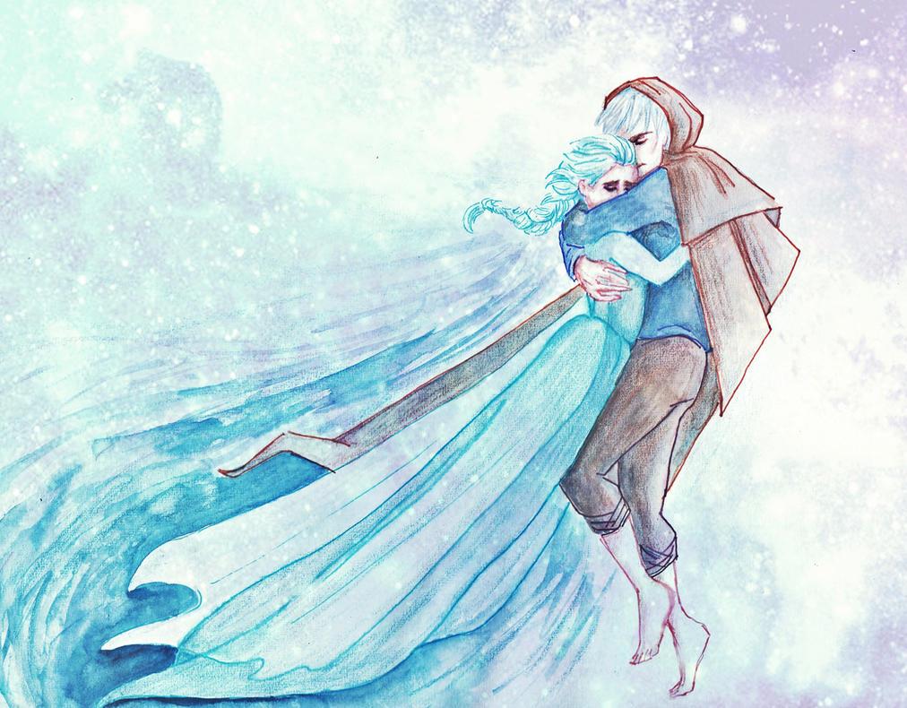 Jack and Elsa by cuddliimuddlii
