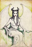 Maleficent by raskina