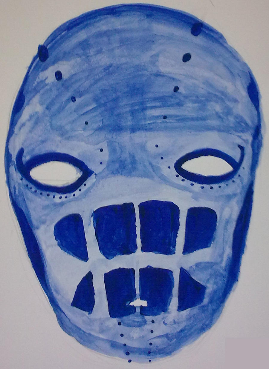 Ceremonial Ghost Mask