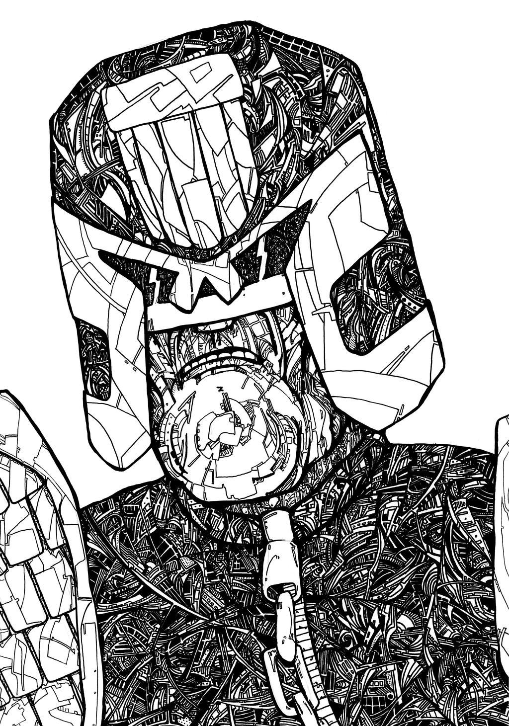 Dreddcorstal by grthink